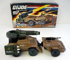 GI JOE MEAN DOG Vintage Action Figure Vehicle COMPLETE w/BOX 1988