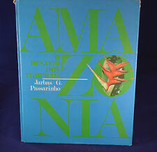 Amazonia Desafio Dos Tropicos 1972 Amazon Hardcover in Three Languages