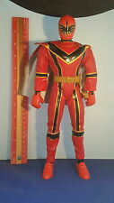 Power Rangers Mystic Force Red Ranger 12 inch Huge Articulated Figure Rare !!