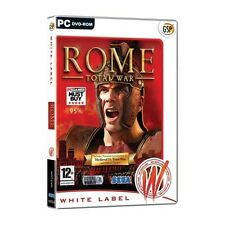 Rome total war jeu (white label) pc neuf