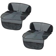 2 x Kindersitzunterlage, Unterlage für Autositze, Sitzschoner, Schutzunterlage