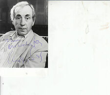 ANDREW SACHS HAND SIGNED PHOTO - FAWLTY TOWERS