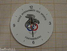 Cadran de montre ECOLE INTERARMEES DES SPORTS  28,7mm vintage,collector