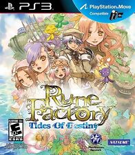 Rune Factory: Tides of Destiny [PlayStation 3 PS3, Video Game, Natsume RPG] NEW