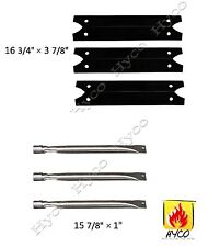 Charmglow 810-7600-S Gas Barbecue Grill Replacement Burners & Heat Plate