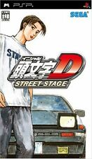 Used PSP Initial D Street Stage Japan Import