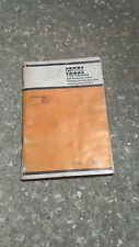 Case 1102 Vibrating Self Propelled Roller Operator Manual Pin 840278200 & After