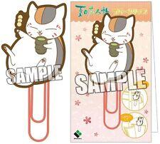 Natsume's Book of Friends Yuujinchou Rubber Clip Nyanko Sensei Odango Dango NEW
