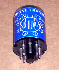 One vintage McGohan MC-2 microphone input transformer - Altec-Peerless 4722 !!