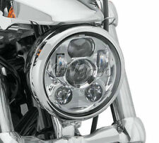 """5 3/4"""" LED Chrome Daymaker Projector Headlight For Harley Sportster XL 1200 883"""
