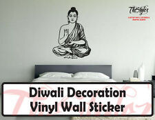 Diwali Buddha Decoration Vinyl Wall Sticker