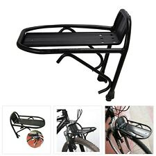 Cycling Bike Aluminum Alloy Front Rack Bracket Bicycle Carrier Pannier Racks BY