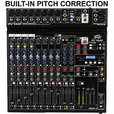 PEAVEY PV14AT BUILTIN ANTARES LIVE PITCH CORRECTION USB FX MIXER $9 INSTANT OFF