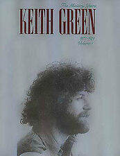 Keith Green Ministry Years 1977-1979 Play Pop PIANO Guitar PVG Music Book 1