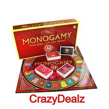 NEW Monogamy Hot Affair Adult Board Game Couples Fun Saucy Sexy Gift Romance