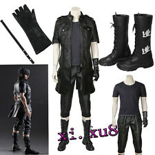 Final Fantasy Noctis Lucis Cosplay Costume Any Size Upgrade Full Set and Boots