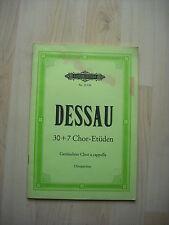 Noten. Dessau. 30+7 Chor-Etüden