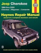 Haynes Repair Manual: Jeep Cherokee 1984 Thru 2001 : Cherokee, Wagoneer,...