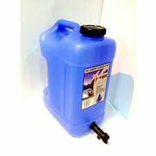 Icon Plastics CAMPER CARRIER WITH TAP 10L, BLUE TINT, UV Stabilised *Aust Made