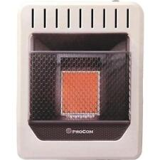 ProCom Plaque 10,000-BTU Vent-Free LP Gas Wall Heater
