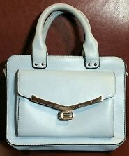 ATMOSPHERE Small Satchel Handbag Pale Blue,Cheap,Chic,Gift,Idea's