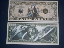 BEAUTIFUL UNC. NOVELTY NOTE OF STAR WARS FREE NOTE OFFER!