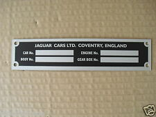 JAGUAR E-TYPE & XJ SER 1 ALLOY REPRO CHASSIS ( COVENTRY) JCP3