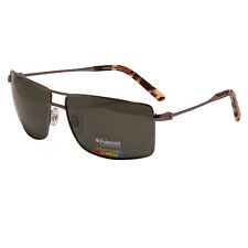 Polaroid - Polarised Gunmetal Contemporary Classic Style Sunglasses with Case