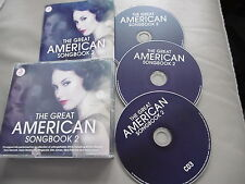 THE GREAT AMÉRICAIN SONGBOOK SET 3 CD BENNET SIMONE SINATRA CROSBY DAY COLE