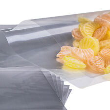 "x50 (2.5 "" X 10 "") Cellophane Cello Poly Display Bags Lollipops Cake Pop"