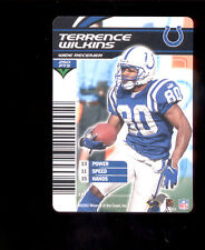 2003 NFL Showdown TERRENCE WILKINS Indianapolis Colts Rare Card