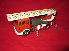 Fire Engine w/ Ladder Mercedes Atego 1:50 SIKU 2819 Diecast Model Truck no box