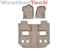 WeatherTech FloorLiner Floor Mat for GMC Yukon XL w/ Bucket - 2015-2017 - Tan