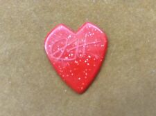 "Metallica Kirk Hammett "" Dunlop Jazz III 2012 RARE RED signature guitar pick"