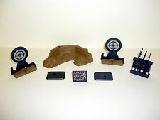 1985 COBRA RIFLE RANGE UNIT G.I. Joe Vintage Action Figure Playset COMPLETE