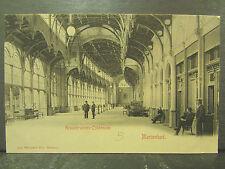 cpa allemagne germany marienbad kreuzbrunnen colonnade animee