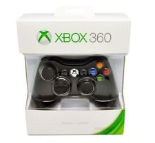 Official Microsoft Xbox 360 Wireless Controller (BLACK) - BRAND NEW