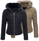 Giacca Da Donna Giacca trapuntata Inverno caldo trapuntato Collo di pelliccia