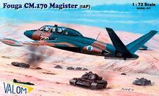Aerospaziale/Potez Fouga Magister cm 170 (Israeliano IDF/AF MARCATURE) 1/72 VALOM