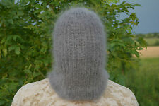 Thick Mohair Beanie Hat Balaclava Mask Without holes Fetish Sexy Face Masks