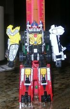 Power Rangers Operation Overdrive DRIVEMAX MEGAZORD battle your monster & robots