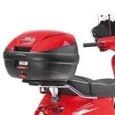 GIVI REAR RACK FOR MONOLOCK TOP CASE PIAGGIO VESPA S 50-125-150 2007-2014