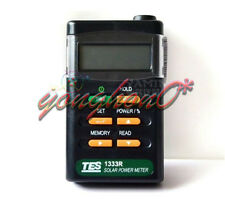 Power Meter Digital Radiation Detector Solar Cell Energy Tester TES-1333R