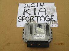2014 KIA SPORTAGE 1.7 2WD moteur diesel OEM 39120-2a053 écus bosch 0281031654
