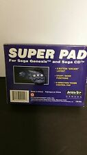 NEW IN BOX Controller Gamepad for Sega Genesis Interact 6 Button Super pad