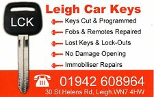 Spare keys for, Audi, VW, Skoda, Seat, in the North West, of England