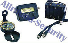 "Satelliten-Finder Set ""SFI-1S"" 5-Teilig Batteriehalter Kompass SATFINDER-KIT"