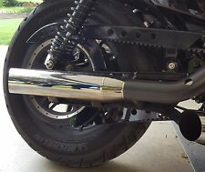 Harley-Davidson Sportster lower belt guard Buck Shot Hole conversion