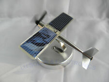 Funny Decorative Aircraft Model Solar Airplane Kit 0.4W For Car Desk Solar Power