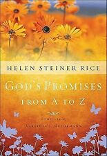 God's Promises from A to Z, Rice, Helen Steiner, Good Book